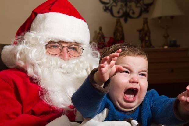 Спілкування з Дідом Морозом може спричинити стрес