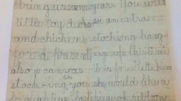 Лист до Санта-Клауса, датований 1989 роком