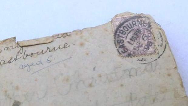 Старовинний лист до Санта-Клауса