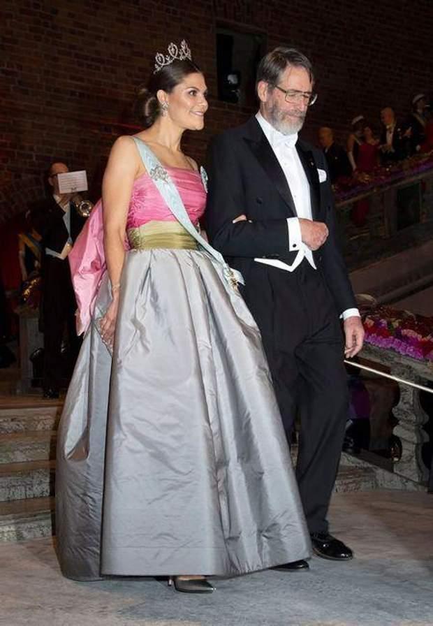 Шведська принцеса Вікторія на Нобелівській премії 2018