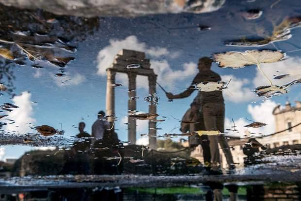 Незвичні фото столиці Італії