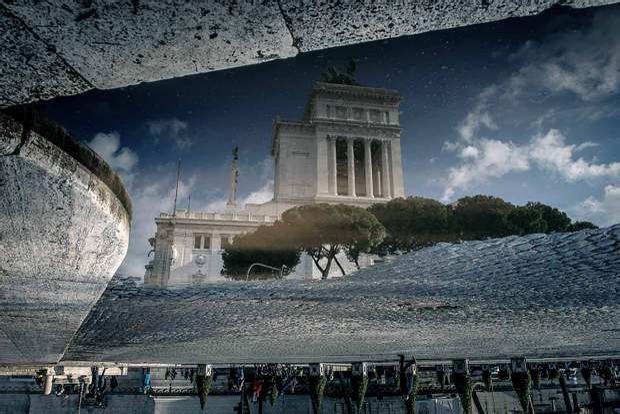 Італійський Рим після дощу