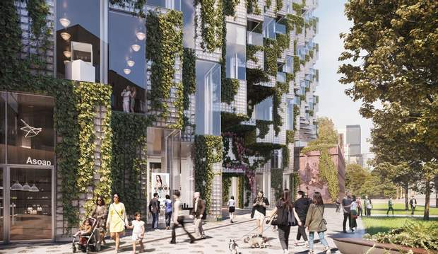 Канада Торонто BIG Architects скляна цегла