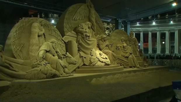 піщані скульптури у ватикані