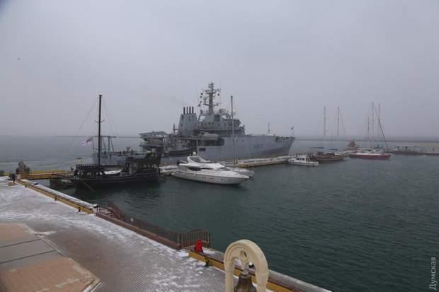 Корабель НАТО увійшов до Одеси