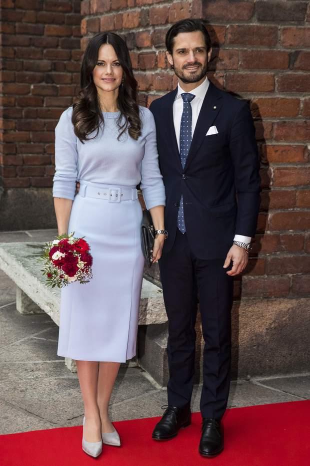 Принцеса Софія та  принц Карл Філіпп