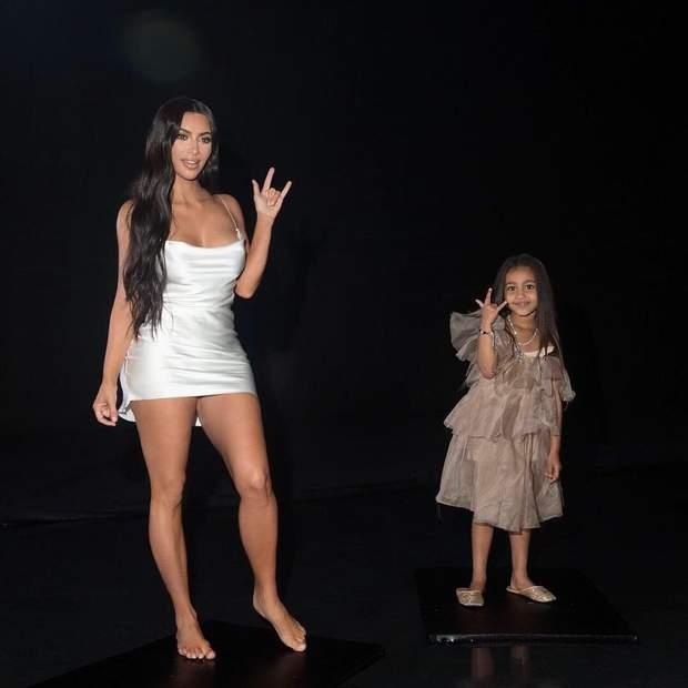 Кім Кардашян і Норт Вест / Instagram @kimkardashian