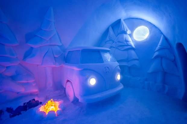 Готель Швеція Лапландія лід