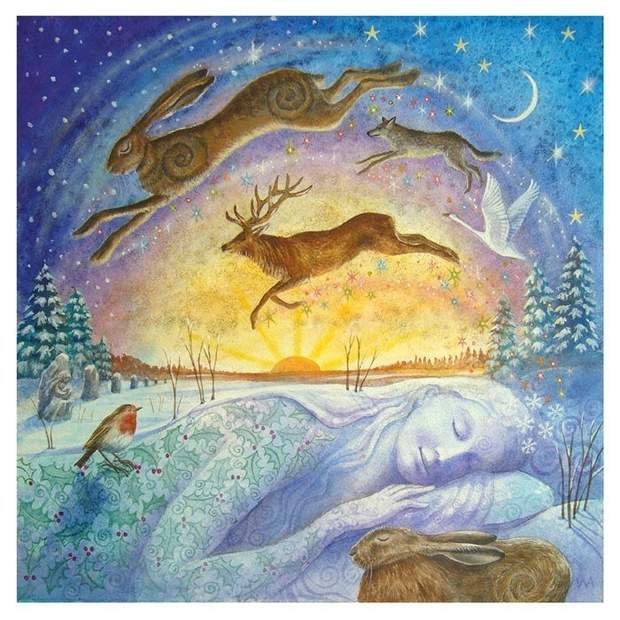 Ритуали на День зимового сонцестояння