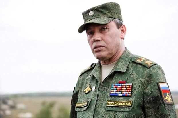 Начальник російського Генштабу Валерій Герасимов