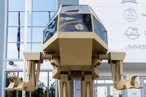 Прототип бойового робота
