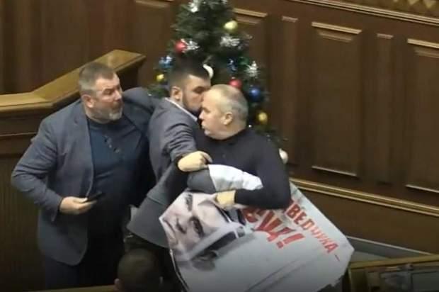 Шуфрич Верховна Рада бійка Медведчук