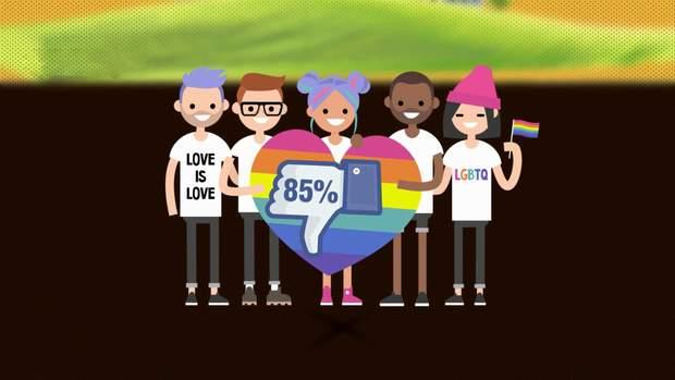Більше, ніж половина українців негативно сприймають акції ЛГБТ