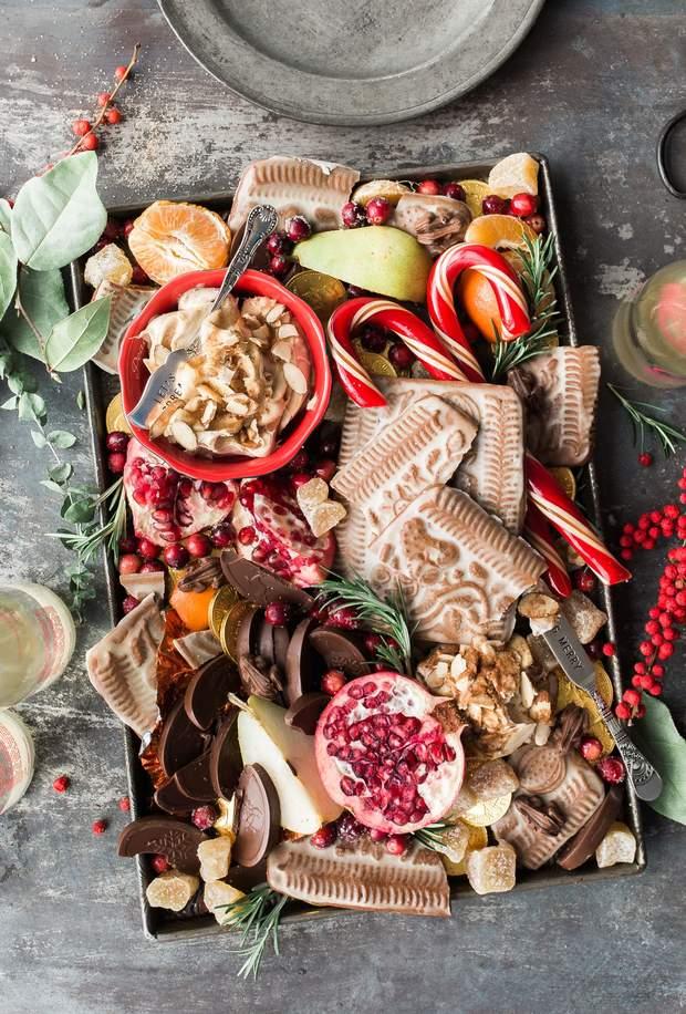 Новорічні солодощі подарунок на Новий рік