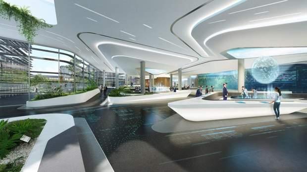 торговий центр Тбілісі архітектура інтер'єр