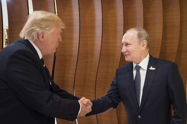 Трамп Путін Війна у Сирії США Росія
