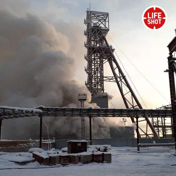 пожежа Солікамськ Росія шахта