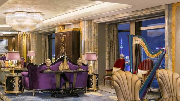 готель 7 зірок Китай Шанхай