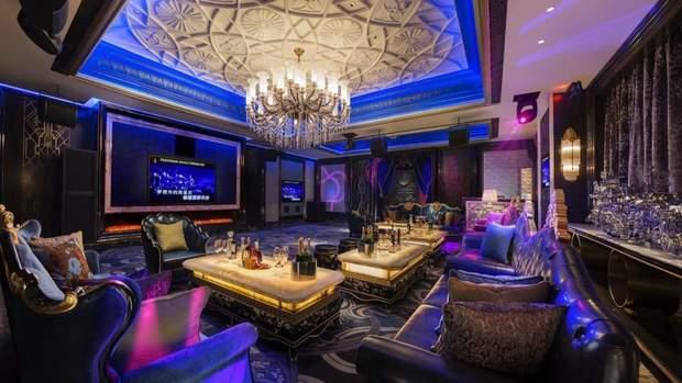Інтер'єр готель 7 зірок Шанхай