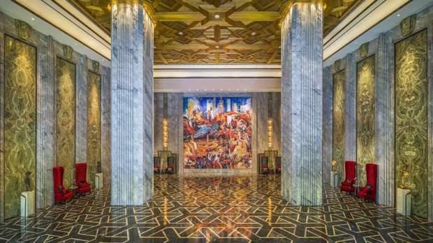 готель Шанхай Китай лобі мармур