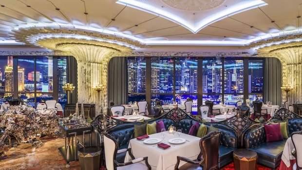 ресторан готель Шанхай Китай