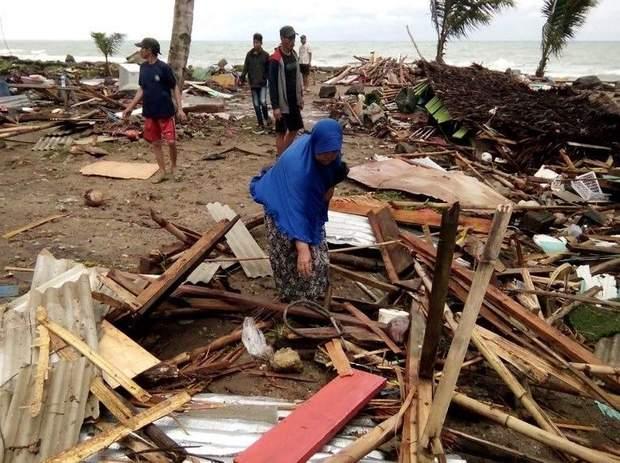 Наслідки цунамі в Індонезії