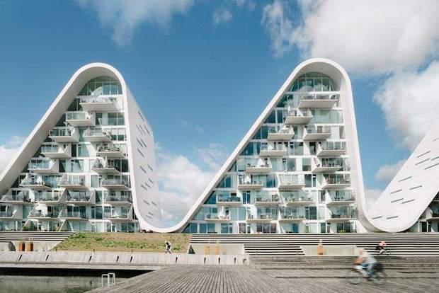будинок хвиля Данія проект