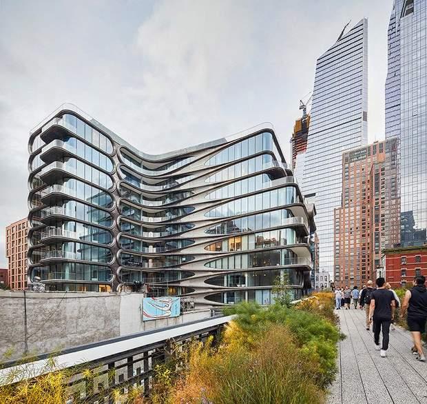 Заха Хадід житловий комплекс Нью-Йорк