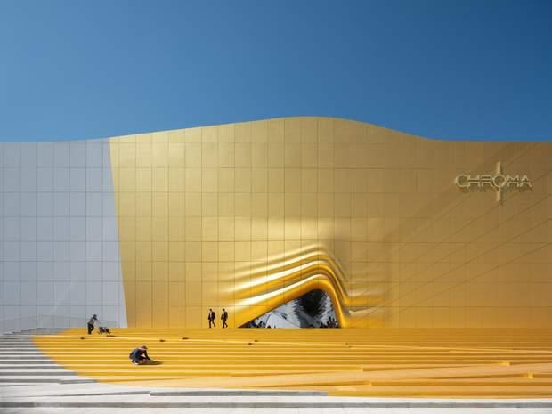 Південна Корея архітектура
