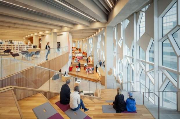 Канада Калгарі бібліотека