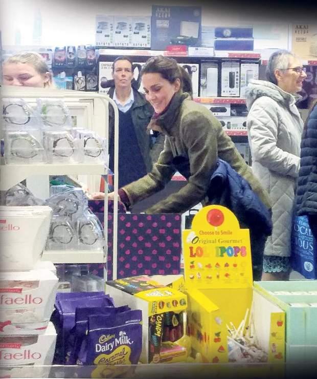 Кейт Міддлтон скупиал товари перед Різдвом