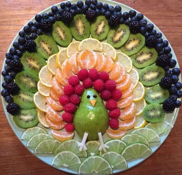 нарізка фруктів