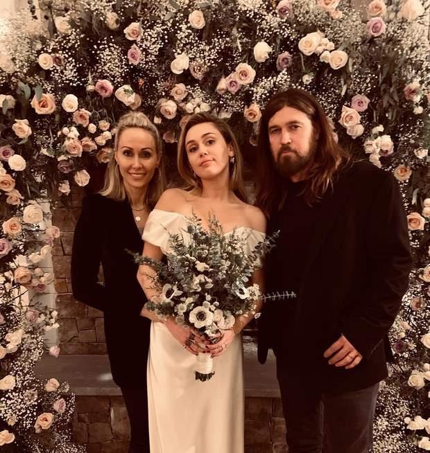 Майлі Сайрус з батьками