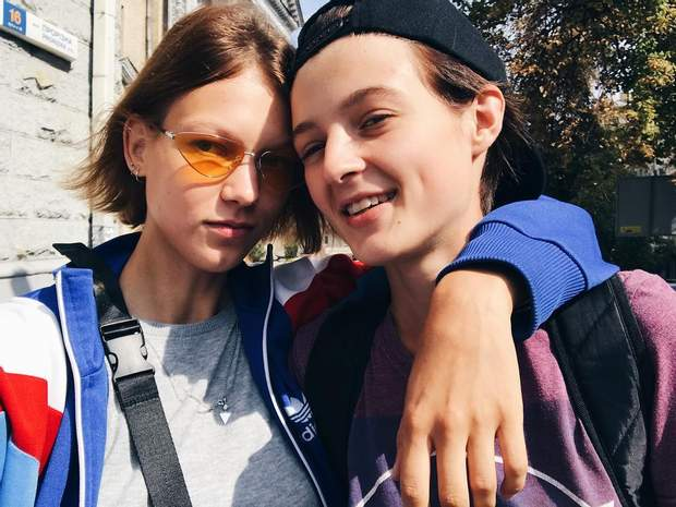 Валерія Гармаш і Яна Кутішевська