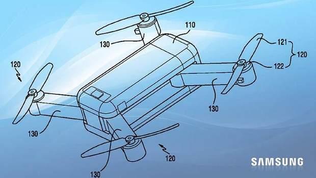 Samsung розробляє дрон-трансформер