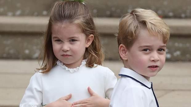 Принц Джордж та принцеса Шарлотта