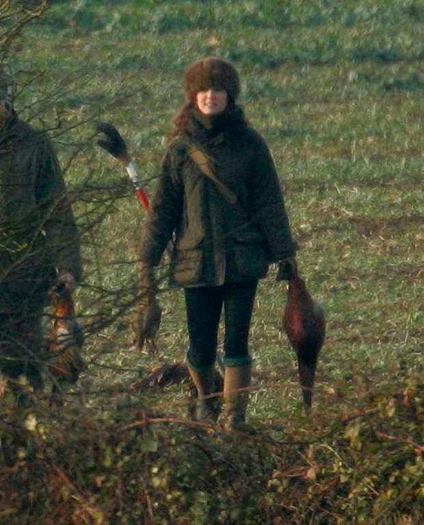 Кейт Міддлтон на полюванні
