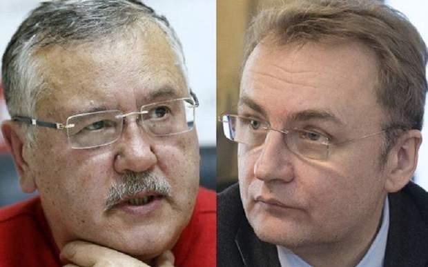 Анатолій Гриценко та Андрій Садовий