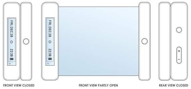 Новий патент гнучкого смартфона від LG