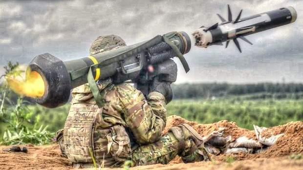 війна на Донбасі війна ЗСУ зброя Джевеліни