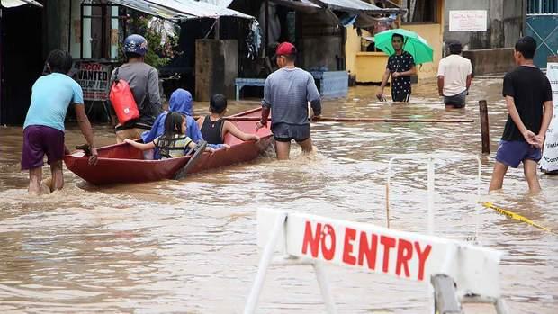 Циклон затопив 100 районів Філіппін