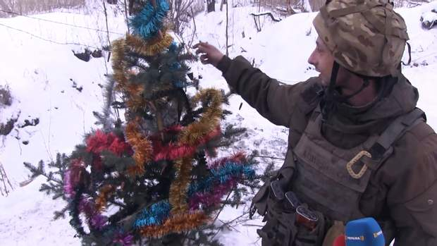 Новий рік на Сході війна на Донбасі