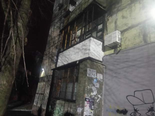 Петарда вибухнула на балконі квартири