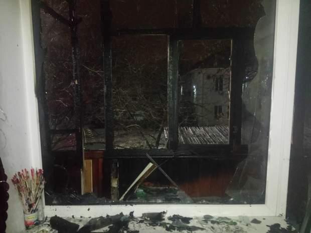 Пожежа в Запоріжжі сталася  через вибух петарди