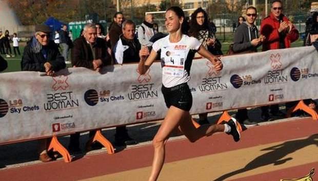 Софія Яремчук посіла друге місце у змаганнях з бігу