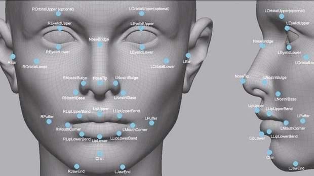Принцип роботи нової технології сканування особи від Sony
