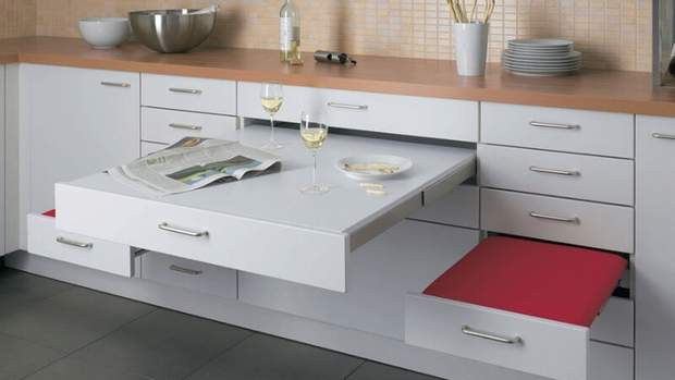 дизайн маленбької кухні