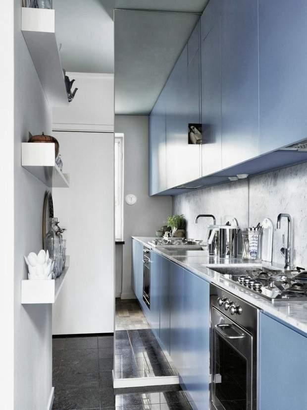 дзекрало у маленькій кухні
