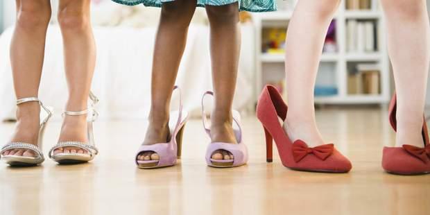 Дівчаткам можна носити взуття на підборах з 12 років