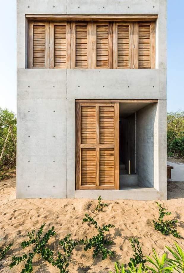 будинок Мексика вікна ставні